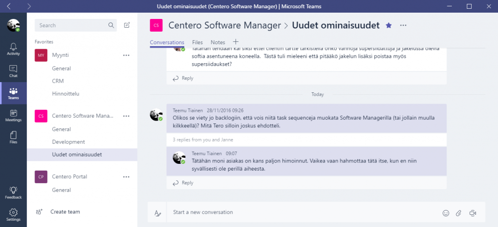 Microsoft Teams 2